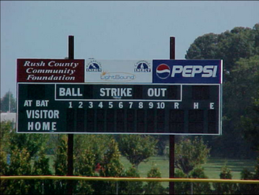 2002 grant for Council of Clubs scoreboard