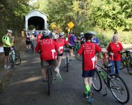Five in 50 Covered Bridge Riders