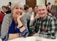Jennifer Harcourt Buchanan and Fred Marshall