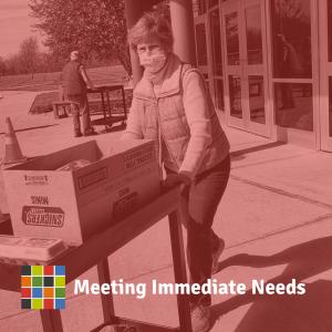 Meeting Immediate Needs